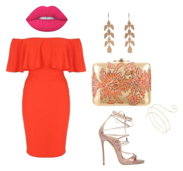 """""""nathalia salida de noche"""" by adriana-rojas-i on Polyvore featuring moda, Jane Norman, Judith Leiber, Dsquared2, Lime Crime y Irene Neuwirth"""