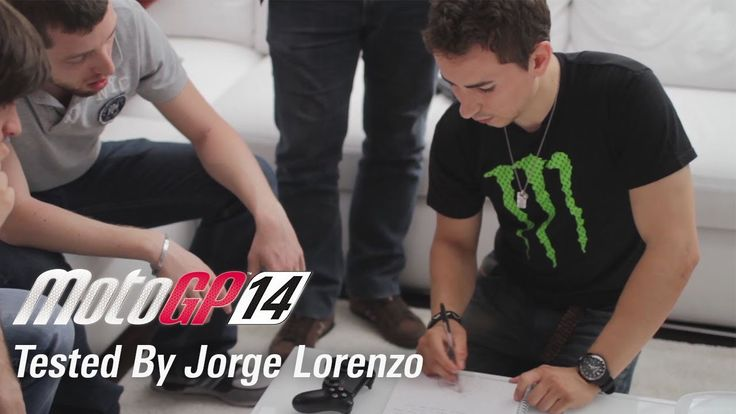 Jorge Lorenzo was kind enough to come to Milestone HQ to give his thoughts on MotoGP 14.