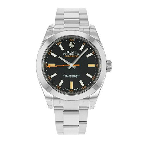 Rolex Milgauss 116400GV Stainless Steel Automatic Men's Watch
