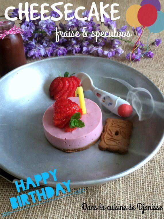 Cheesecake d'anniversaire pour bébé
