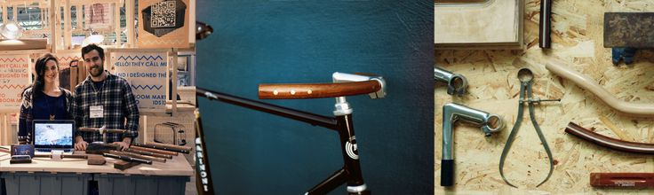 F&Y Bicycle Wooden Handlebars – Everett Gray - Made in Montreal