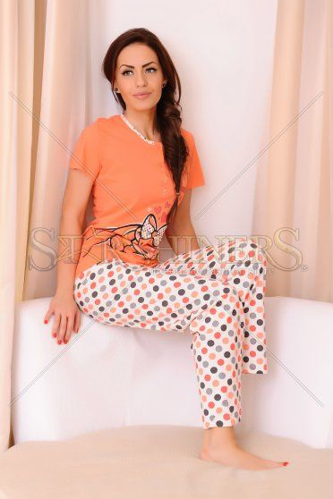 Pijama Good Night Orange
