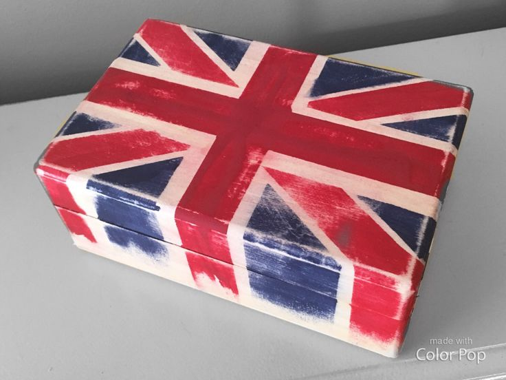 A personal favorite from my Etsy shop https://www.etsy.com/ca/listing/492668998/distressed-union-jack-trinket-box