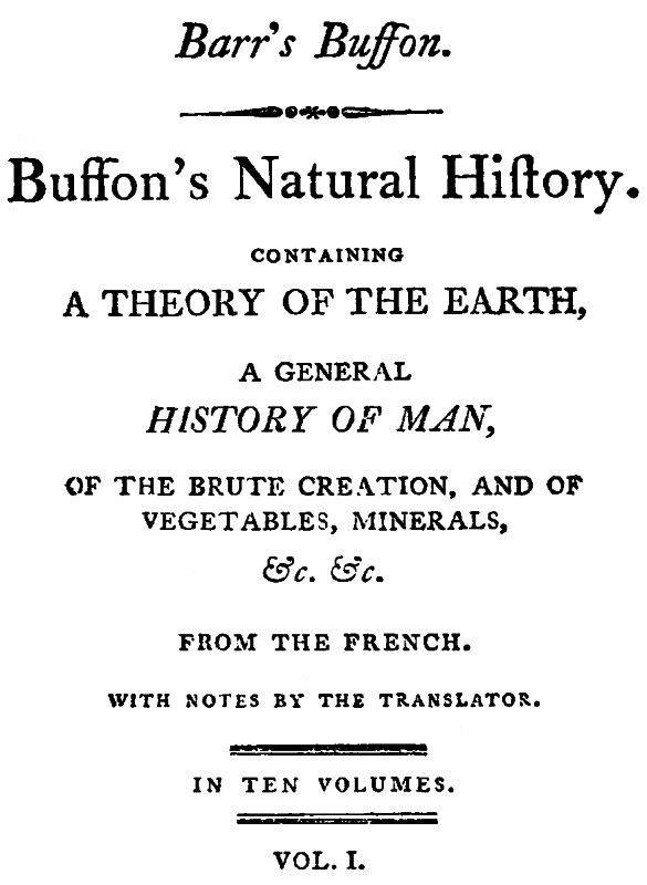 Buffon s Natural History, Volume I (of II) free books reviews on    http://www.bookchums.com/free-ebooks/buffon-s-natural-hist/NjA0NTI=.html