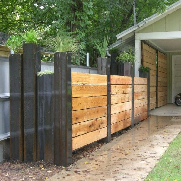 65 best Fences images on Pinterest | Fence ideas, Garden fencing and ...