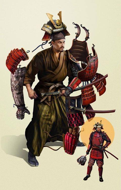 ALexandre Jubran's Samurai Armor