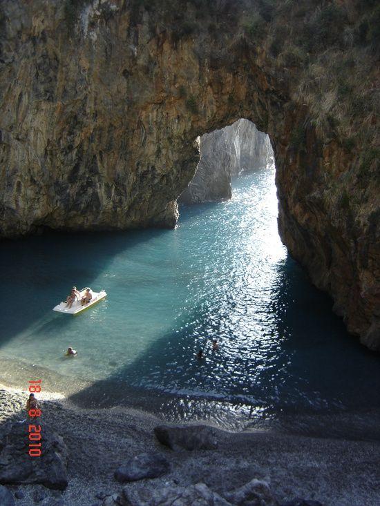 Arcomagno, Calabria, Italy Sea