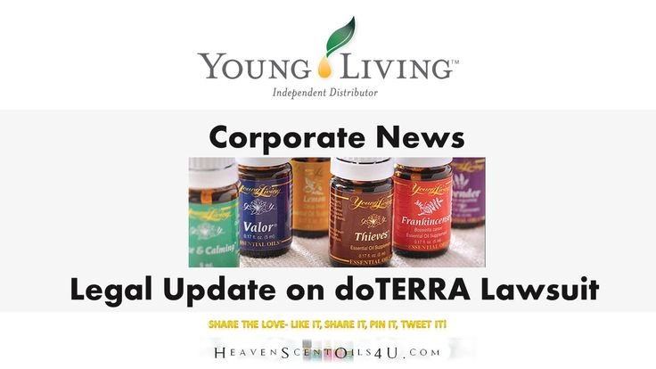 Legal Update on YL vs. doTERRA Lawsuit