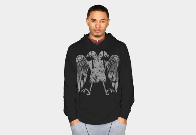 Eagle Bird Griffin Grunge Distressed Design Sweatshirt - Design By Humans