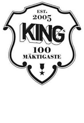 Taste PR är för fjärde året pressansvariga när King Magazine – modemagasinet för män, utser de 100 mäktigaste inom svenskt herrmode.   Tidigare vinnare är Jonny Johansson, Acne (2007); Lena Patriksson Keller, Patriksson Communication och Whyred (2008); Örjan Andersson, Cheap Monday och Weekday (2009); Margareta van den Bosch, H (2010); Ninni Lindertz, Nike (2011); och Johan Lindeberg, BLK DNM (2012).  Du (2013).