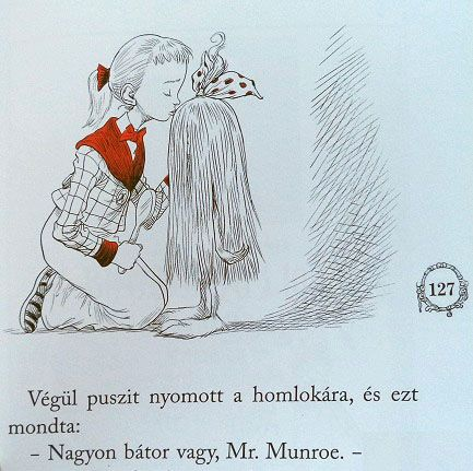 Hungarian Ottolina / Ottoline by Chris Riddell