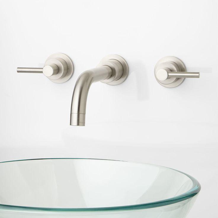 Best Wall Mount Bathroom Faucet Ideas On Pinterest Wall - Bathroom faucets for vessel sinks for bathroom decor ideas
