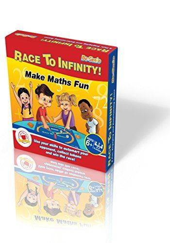 From 24.99 Maths Games For Kids Ks2 Ks1 Ks3  Race To Infinity- Fun Math Board Game With Dice For Children To Increase Confidence  Perfect For Practising Times Tables Addition And Subtraction Multiplication And Division- Great For Age 678910111213 Year Olds Primary & Secondary School Teenagers Teachers Even Adults. Game For Both Maths Whizzes And Maths-phobics - The #1 Way To Do Maths Practice With Your Child Easily Without Stress-get It Now At Great This Pricing Before Theyre All Gone!