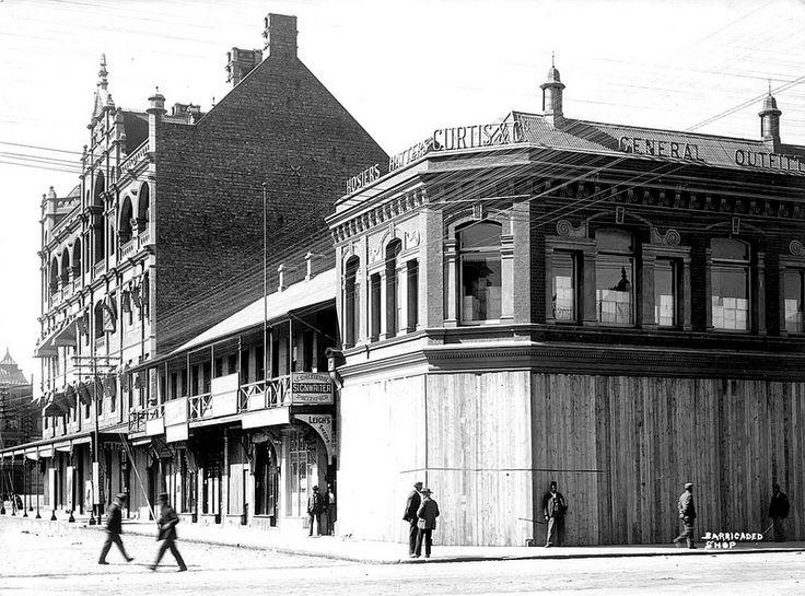 Barricaded Shops in Johannesburg, 1901 | Flickr - Photo Sharing!