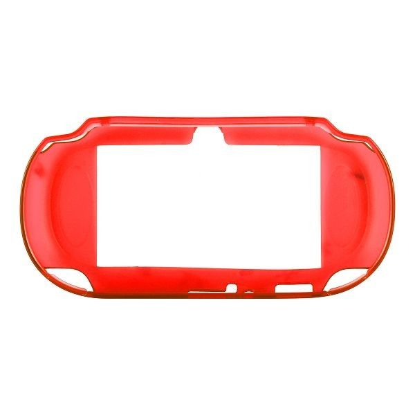Silicone Shell - Medium Hard (Röd) Sony PlayStation Vita-Skydd