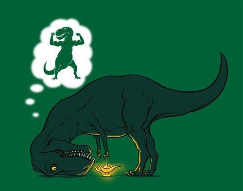t-rex wishes