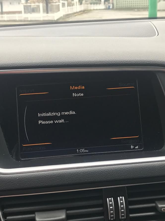 Hey r/audi i rented an audi! Quick question: why have i been looking at this on my 2016Q5's dash in silence all afternoon? #Audi #cars #car #quattro