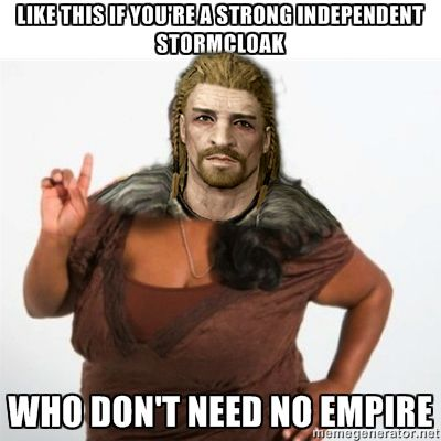 I'm an Imperial, but after I found what dicks they were, I side with Ulfric.