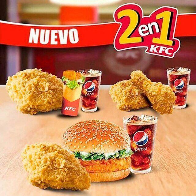 Disfruta con tus panas  en KFC del CC @parqueaviadores KFC ahora a tu MANERA! Pide tu favorito con nuestro 2 en 1 en @parqueaviadores y come a tu gusto.  Síguelos:  @parqueaviadores @parqueaviadores @parqueaviadores  #publicidad @publiciudadmcy.  #PolloFrito #ChickenFried #Buenísimo #kfc  #Maracay #almuerzo #cena #merienda #antojos
