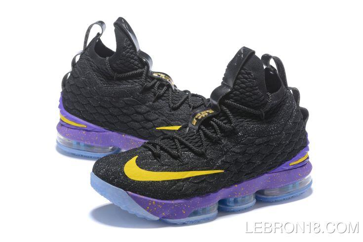 Free Shipping Nike LeBron 15 'Lakers