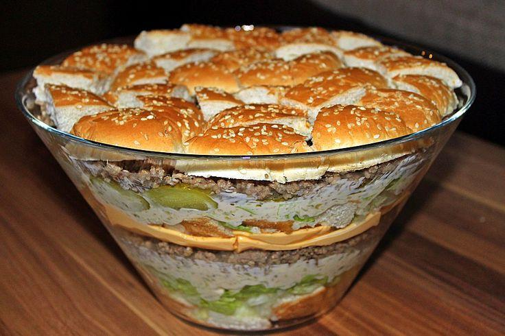 Beste Rezeptesammlung: Big Mac Salat