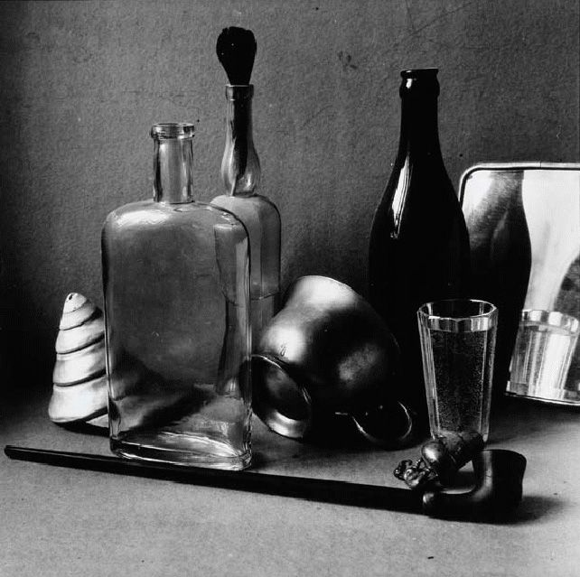 Russian photography. Boris Smelov. Still Life with an Iron Mug. 1996. #history #Russian #photography