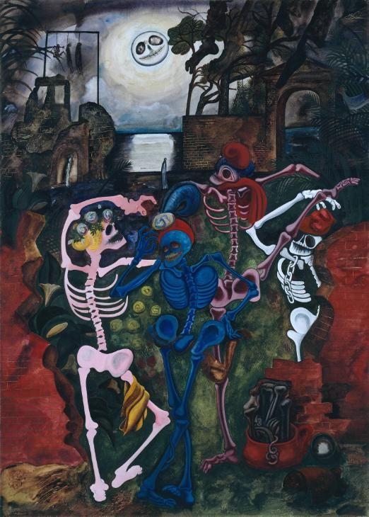 Edward Burra 'Dancing Skeletons', 1934 © Tate