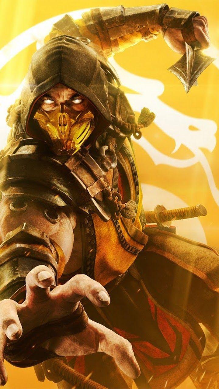 Scorpion Mortal Kombat 11 Wallpaper Mortal Kombat Scorpion