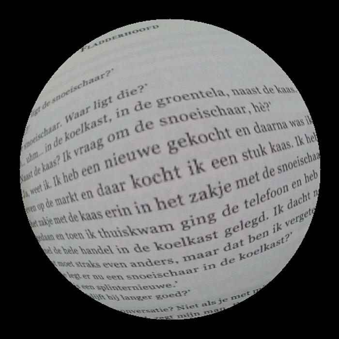 Fragment 'Fladderhoofd' uit 'Lekkerder dan seks'