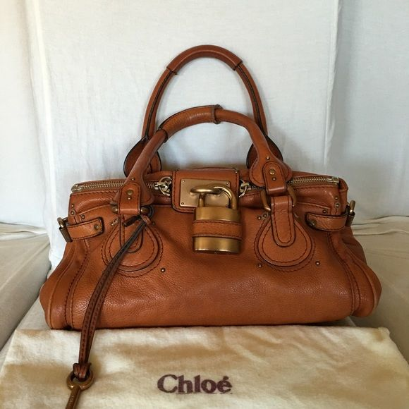 Authentic Chloe Paddington in East West leather | Chloe Bag, Calf ...