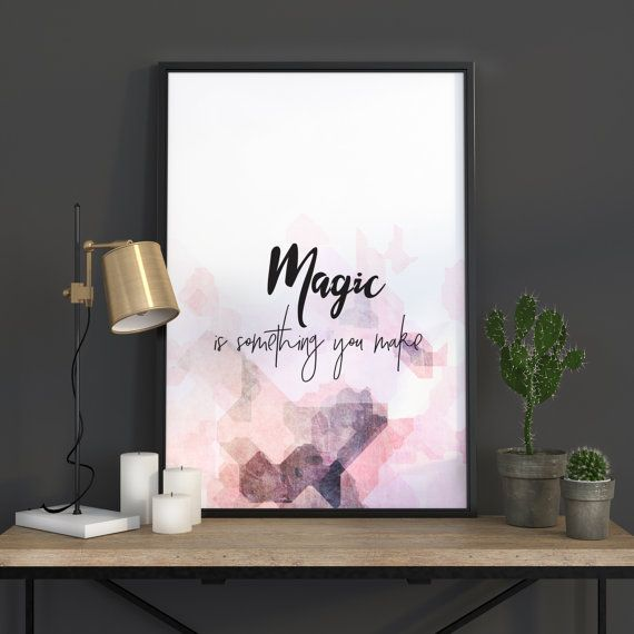 Quotes Prints Typography Wall Art Quotes by WordKitty on Etsy