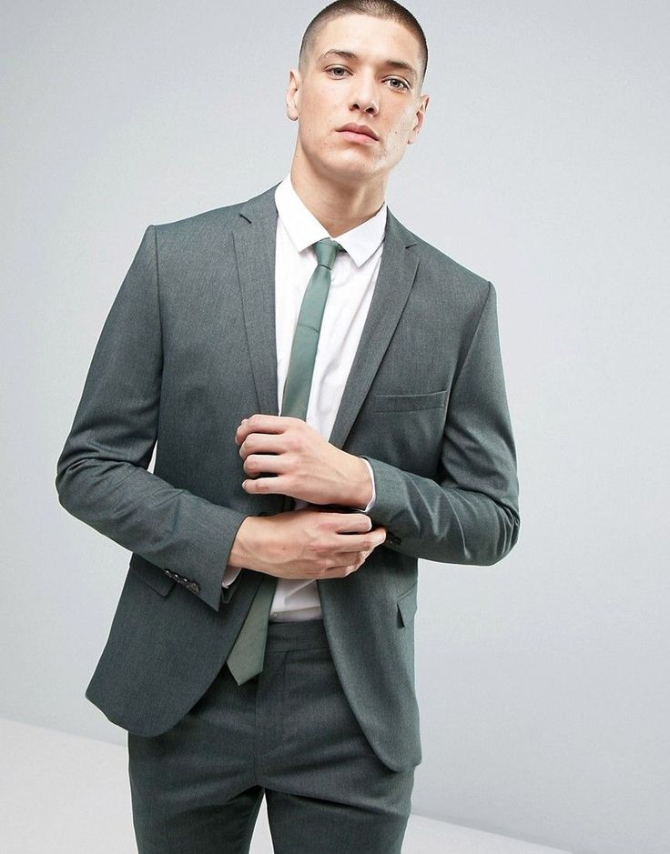 Buy Green Selected Homme Suit For Men At Best Price Compare Suits Prices From Online Stores Like Asos