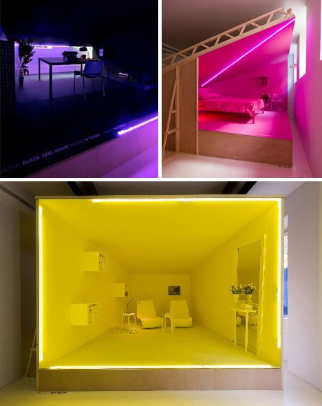 Interior Colorful Rooms Architecture Pinterest