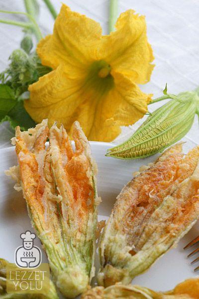 Salatalar ve Mezeler   Kabak Çiçeği Kızartması   Lezzet Yolu   Denenmiş Resimli Yemek Tarifleri, Mekanlar, Haberler, Şefler ve Daha Fazlası