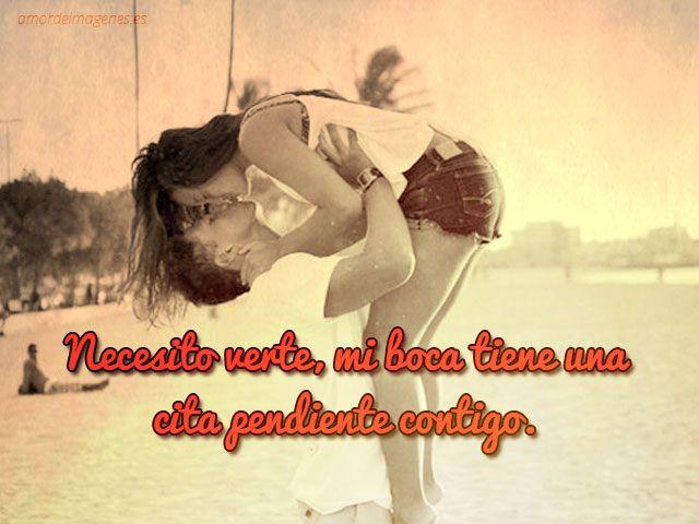 Imágenes de besos con frases hermosas para compartir - http://www.imagenesdeamors.com/imagenes-de-besos-con-frases-hermosas-para-compartir/