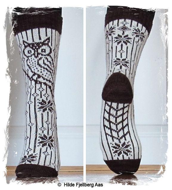 Ravelry: Garsnes Ugla pattern by Hilde Aas