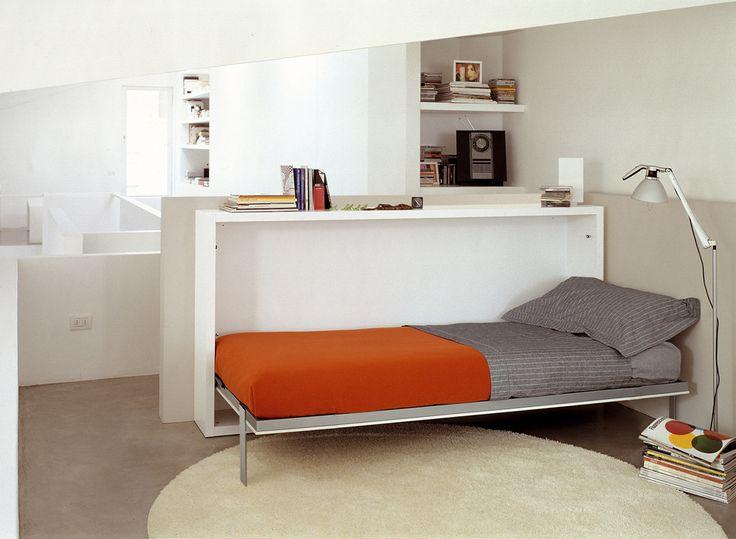 lit escamotable à l horizontale idées pour lit escamotable simple ...