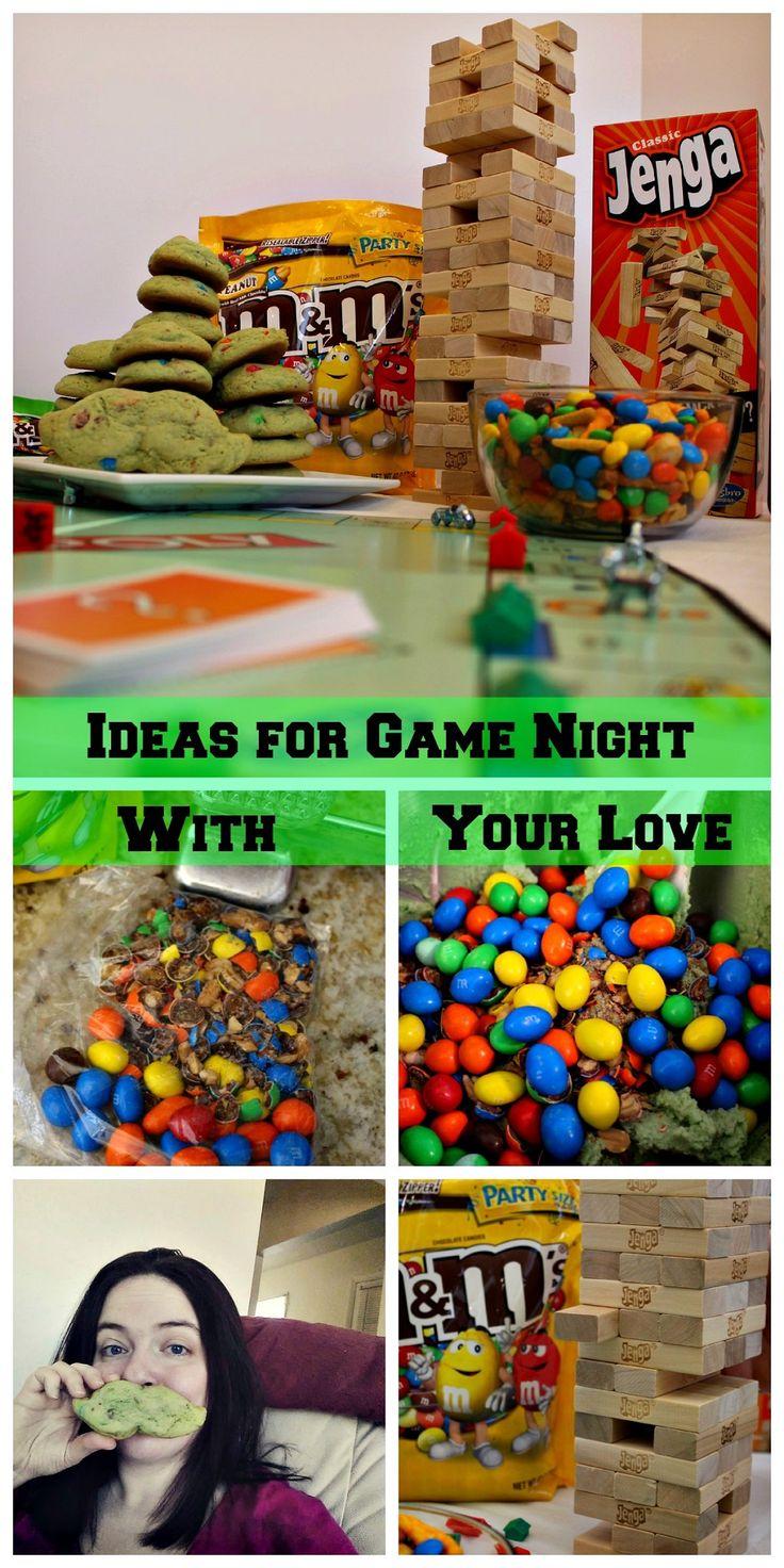 Ideas for Game Night With Your Love http://scrappygeek.com/ideas-game-night-with-your-love/ #cbias #ad #GameNightIn #cbias #Monopoly #Jenga #GameNight #Fun