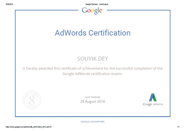 8 best Google Ad words Certification images on Pinterest | Bright ...