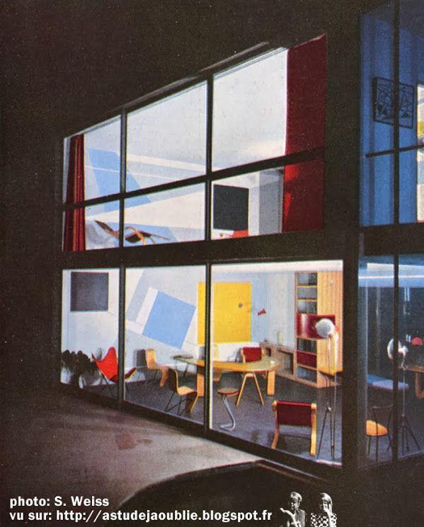 meudon bellevue maison atelier d 39 andr bloc conception et plastique andr bloc etude de. Black Bedroom Furniture Sets. Home Design Ideas