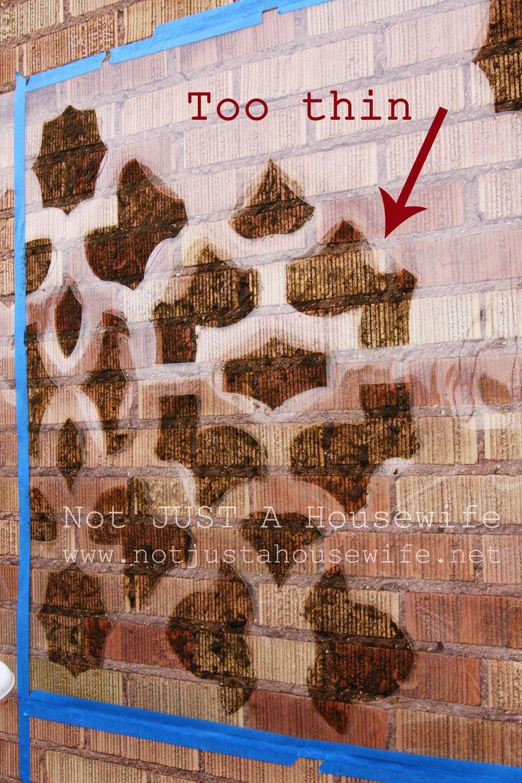 Moss graffiti failures and successes.