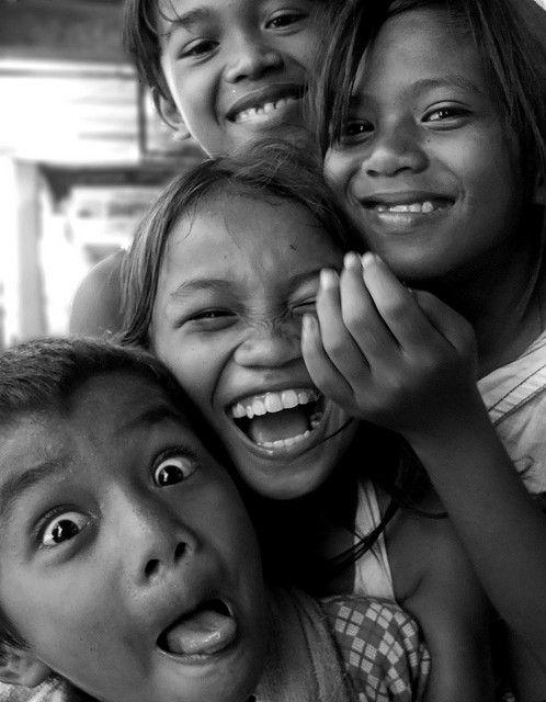 street children in the Philippines