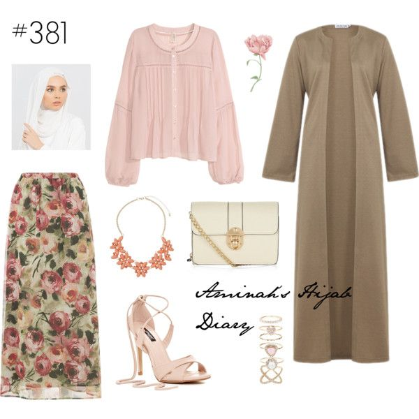 Aminah´s Hijab Diary #hijab #hijabfashion #modest #fashion #look #style #outfit #ootd #hm #inayah #summer #muslimah #germany
