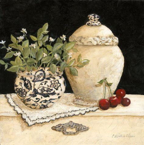 Cherry Still Life (Charlene Winter Olson)