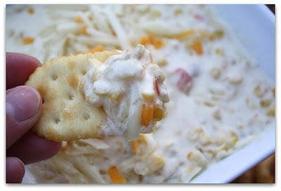 Trisha Yearwood's Hot Corn Dip from Mommy's Kitchen: Yearwood Hot, Mommy Kitchens, Corndip, Trisha Yearwood, Hot Dips, Hot Corn Dips, Potlucks, Dips Recipes, Trisha Hot