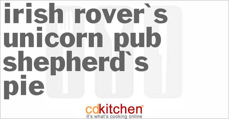 Irish+Rover's+Unicorn+Pub+Shepherd's+Pie+|+CDKitchen.com