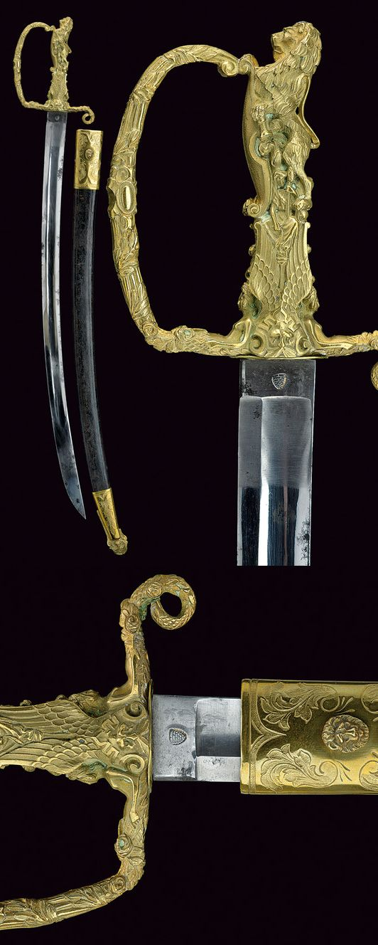 A presentation sabre.    provenance: France dating: mid-19th Century.