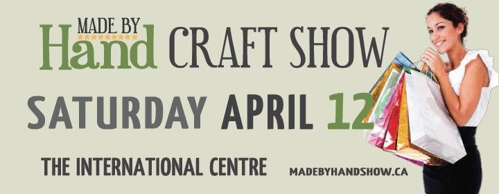 We will be there   Will we see you at the Soring made by. Hand by hand Show on April 12