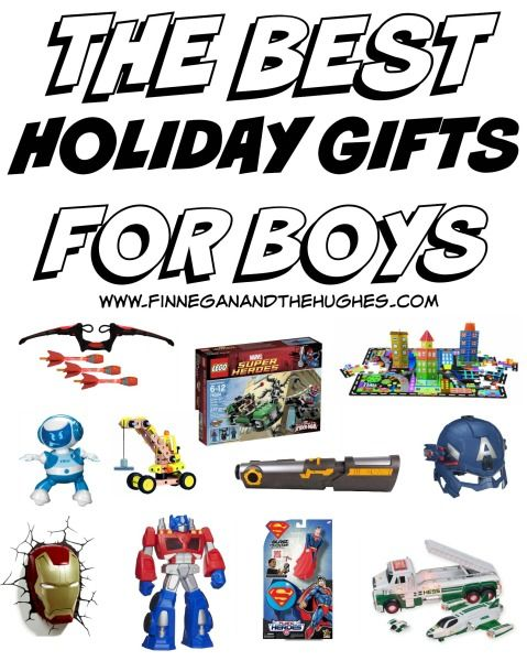 THE BEST HOLIDAY GIFTS FOR BOYS | Finnegan and The Hughes