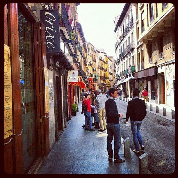 Calle de la Cava Baja in Madrid, Madrid